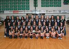 Lander Valley Tigers Girls Varsity Volleyball Fall 18-19 team photo.