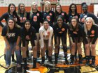Trenton Tigers Girls Varsity Volleyball Fall 18-19 team photo.