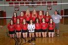 Van Wert Cougars Girls Varsity Volleyball Fall 18-19 team photo.