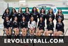 Eagle Rock Eagles Girls Varsity Volleyball Fall 18-19 team photo.