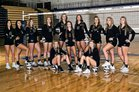 North Forsyth Raiders Girls Varsity Volleyball Fall 18-19 team photo.