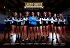 Liberty Charter Lions Girls Varsity Volleyball Fall 18-19 team photo.