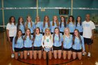 J.H. Rose Rampants Girls Varsity Volleyball Fall 18-19 team photo.