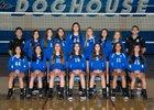 Burbank Bulldogs Girls Varsity Volleyball Fall 18-19 team photo.