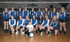 Seattle Lutheran Saints Girls Varsity Volleyball Fall 18-19 team photo.