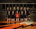 Napavine Tigers Girls Varsity Volleyball Fall 18-19 team photo.