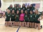 Minisink Valley Warriors Girls Varsity Volleyball Fall 18-19 team photo.