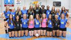 Goodpasture Christian Cougars Girls Varsity Volleyball Fall 18-19 team photo.