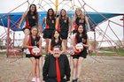 Victory Christian School Centurions Girls Varsity Volleyball Fall 18-19 team photo.