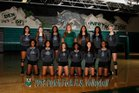 Dutch Fork Silver Foxes Girls Varsity Volleyball Fall 18-19 team photo.