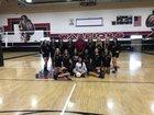Patriot Warriors Girls Varsity Volleyball Fall 18-19 team photo.