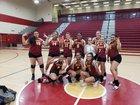 Barstow Aztecs Girls Varsity Volleyball Fall 18-19 team photo.