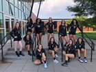 Arapahoe Warriors Girls Varsity Volleyball Fall 18-19 team photo.