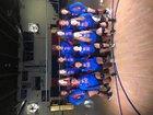 Arkadelphia Badgers Girls Varsity Volleyball Fall 18-19 team photo.