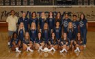 Vista Murrieta Broncos Girls Varsity Volleyball Fall 18-19 team photo.