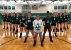 Seaford Vikings Girls Varsity Volleyball Fall 18-19 team photo.