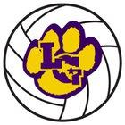 La Grange Leopards Girls Varsity Volleyball Fall 18-19 team photo.