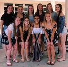 Calaveras  Girls Varsity Volleyball Fall 18-19 team photo.