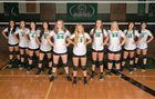 Murray County Indians Girls Varsity Volleyball Fall 18-19 team photo.