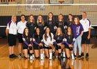 North Kitsap Vikings Girls Varsity Volleyball Fall 18-19 team photo.