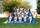 Notre Dame Academy Tritons Girls Varsity Volleyball Fall 18-19 team photo.