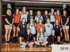 Ridgewood Generals Girls Varsity Volleyball Fall 18-19 team photo.