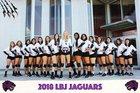 LBJ Austin Jaguars Girls Varsity Volleyball Fall 18-19 team photo.