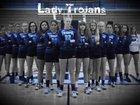 Triopia/Virginia Trojans Girls Varsity Volleyball Fall 18-19 team photo.