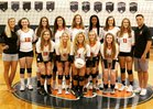 Benjamin Buccaneers Girls Varsity Volleyball Fall 18-19 team photo.