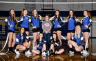 Adna Pirates Girls Varsity Volleyball Fall 18-19 team photo.