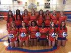 Louisburg Warriors Girls Varsity Volleyball Fall 18-19 team photo.