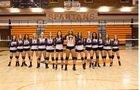 Murray Spartans Girls Varsity Volleyball Fall 18-19 team photo.