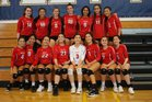 Convent of the Sacred Heart Cubs Girls Varsity Volleyball Fall 18-19 team photo.