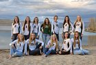 Pinedale Wranglers Girls Varsity Volleyball Fall 18-19 team photo.