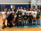 Benjamin Franklin Falcons Girls Varsity Volleyball Fall 18-19 team photo.