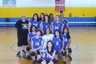 Prosser Falcons Girls Varsity Volleyball Fall 18-19 team photo.