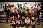 Gentry Pioneers Girls Varsity Volleyball Fall 18-19 team photo.