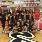 Yukon Millers Girls Varsity Volleyball Fall 18-19 team photo.