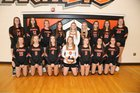 Powell Panthers Girls Varsity Volleyball Fall 18-19 team photo.