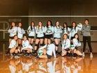 Pearsall Mavericks Girls Varsity Volleyball Fall 18-19 team photo.
