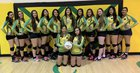 Pecos Panthers Girls Varsity Volleyball Fall 18-19 team photo.