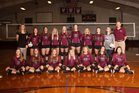 Huntsville Eagles Girls Varsity Volleyball Fall 18-19 team photo.