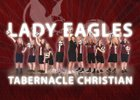 Tabernacle Christian Eagles Girls Varsity Volleyball Fall 18-19 team photo.