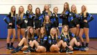 Newark Norsemen Girls Varsity Volleyball Fall 18-19 team photo.