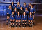 Madison Central Indians Girls Varsity Volleyball Fall 18-19 team photo.