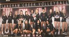 Langham Creek Lobos Girls Varsity Volleyball Fall 18-19 team photo.