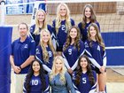 Stone Ridge Christian Knights Girls Varsity Volleyball Fall 18-19 team photo.