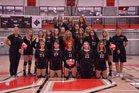 Eureka Springs Highlanders Girls Varsity Volleyball Fall 18-19 team photo.