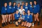 Sacred Heart Crusaders Girls Varsity Volleyball Fall 18-19 team photo.