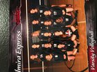 Elmira Express Girls Varsity Volleyball Fall 18-19 team photo.